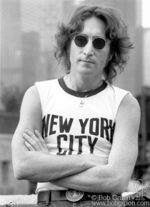 John Lennon New York City T-shirt Bob Gruen