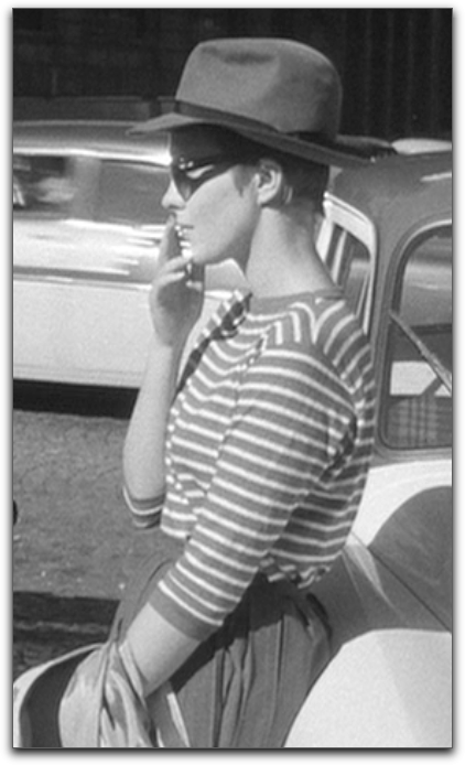 Jean Seberg Breathless hat