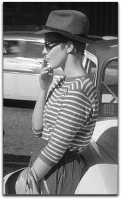 Jean Seberg Breathless hat