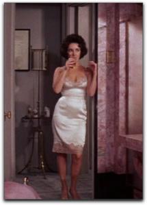 Elizabeth Taylor Butterfield 8 slip
