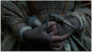 Jane Eyre 2011 Mia Wasikowska mesh gloves