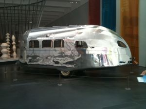 LACMA mini airstream trailer