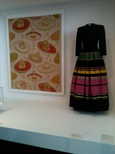 Sombrero textile Mexican folk dress