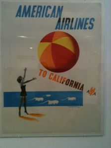 American Airlines ad 1950's