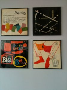 1950's jazz LP covers