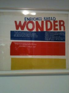 1950's Wonder Bread print