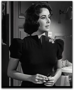 Elizabeth Taylor Suddenly Las Summer black dress