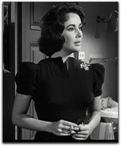 Elizabeth Taylor Suddenly Las Summer black dress