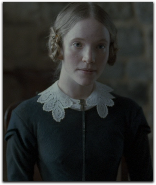 Jane Eyre 2011 scalloped sleeve Tamzin Merchant