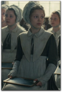 Jane Eyre 2011 Amelia Clarkson school uniform