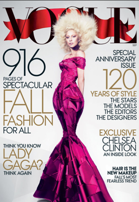 Lady Gaga September Vogue 2012