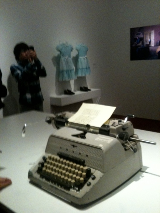 kubrick typewriter twin dresses the shining