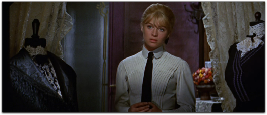 doctor zhivago Julie Christie white shirt tie