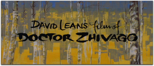 doctor zhivago title card