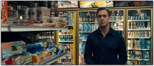 ryan gosling drive denim jacket