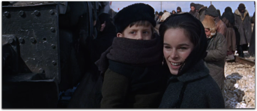doctor zhivago Geraldine Chaplin coat lace scarf
