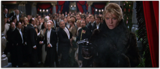 doctor zhivago Julie Christie fur coat gun