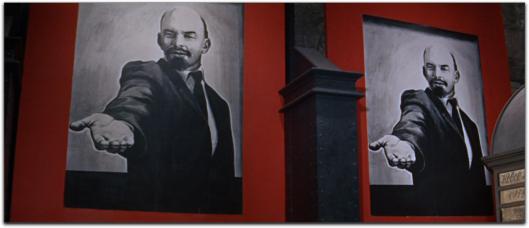 doctor zhivago lenin poster